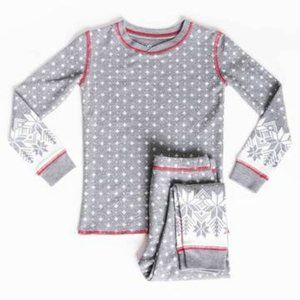 PJ Salvage Snowed In Jammie Set Youth Size 10